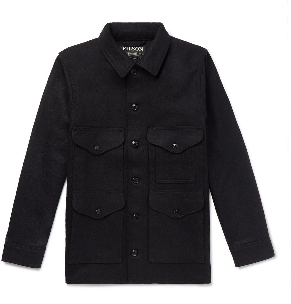Filson - Virgin Wool Shirt Jacket - Men - Midnight blue