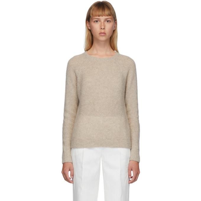 Max Mara Beige Cashmere Satrapo Sweater