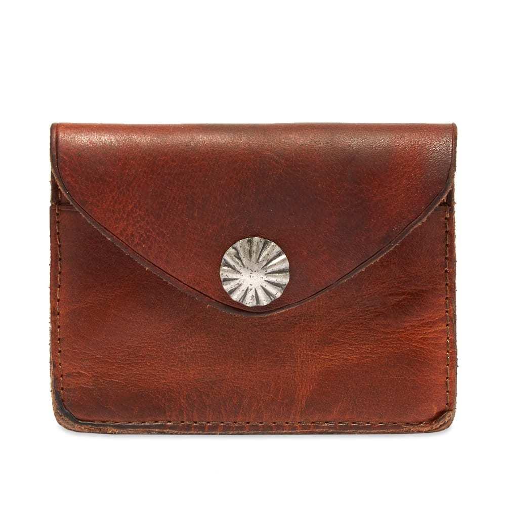 RRL Concha Card Wallet