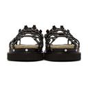 3.1 Phillip Lim Black Yasmine Cage Espadrille Sandals