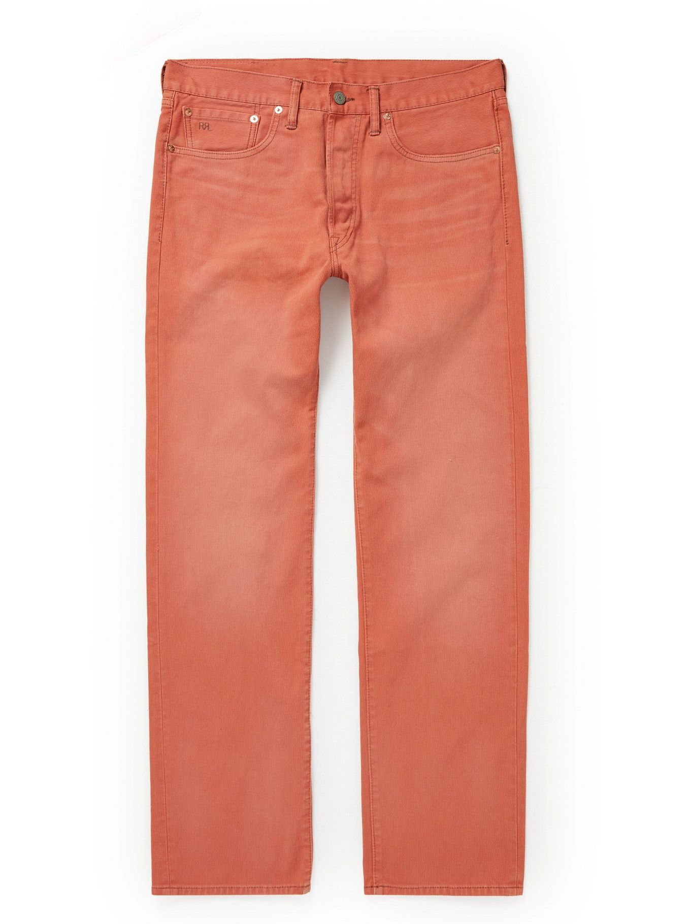 Photo: RRL - Cotton-Corduroy Trousers - Pink