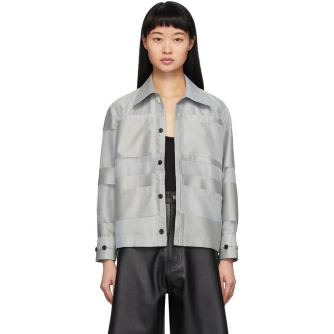 Photo: Namacheko Grey Sumala Shirt Jacket
