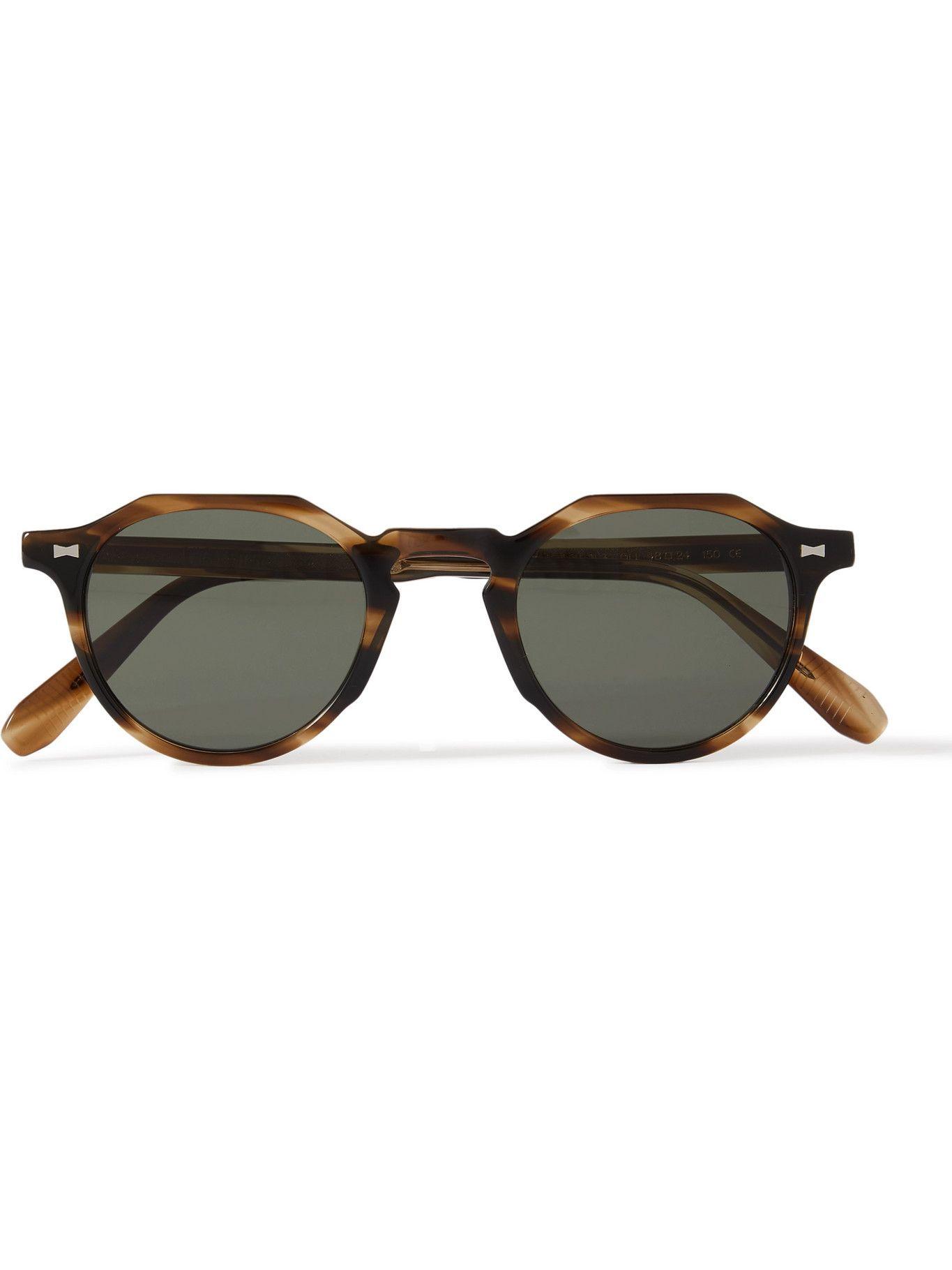 Photo: CUBITTS - Calthorpe Round-Frame Tortoiseshell Acetate Sunglasses