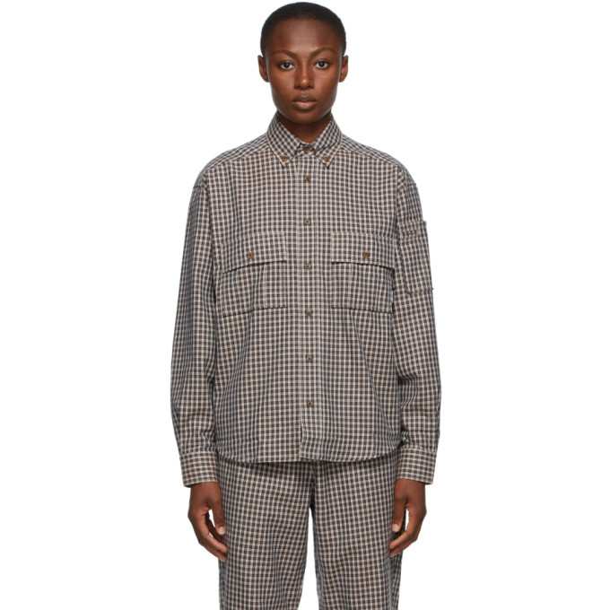 Photo: Rassvet Beige Check Shirt