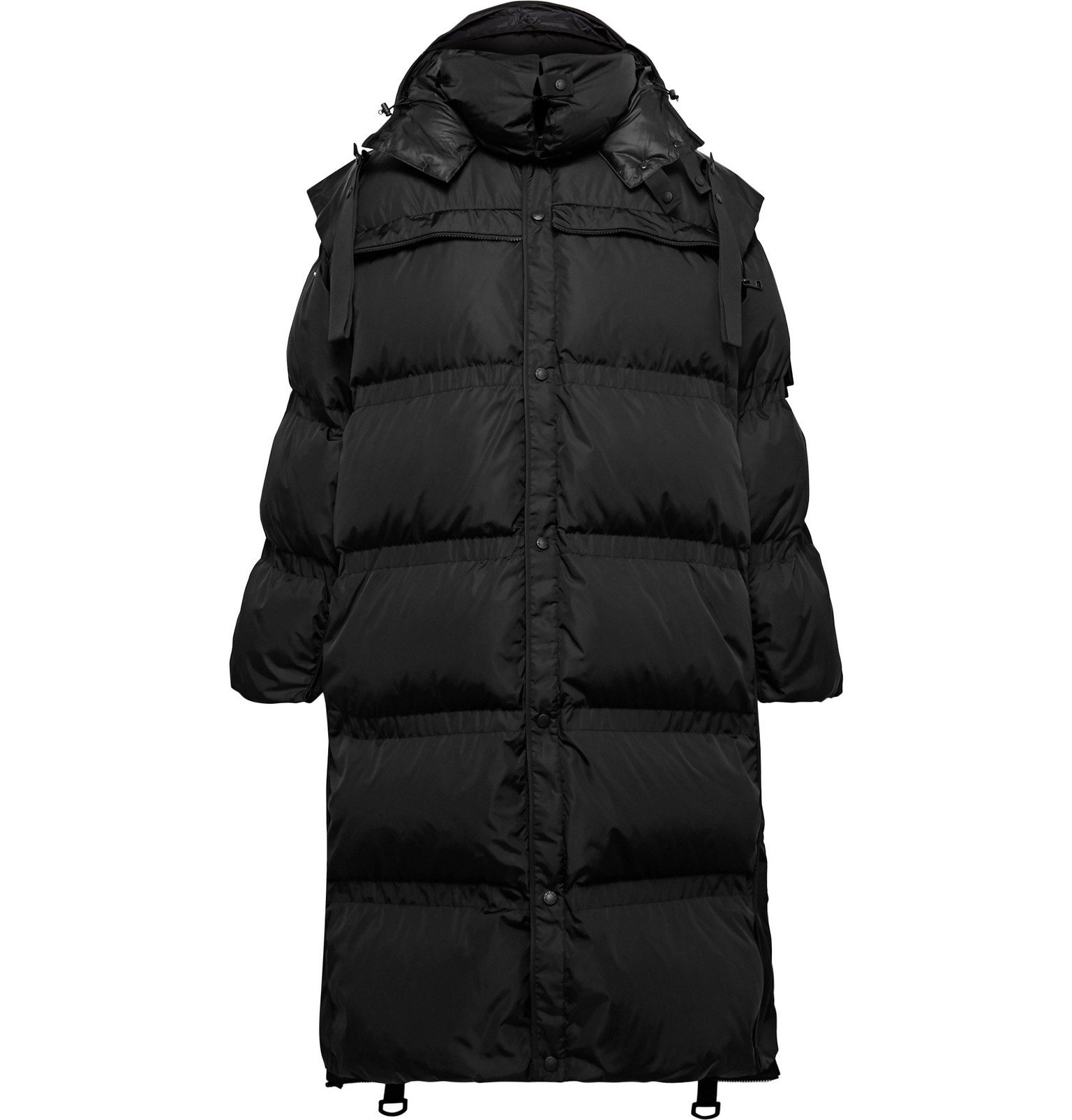 Photo: Moncler Genius - 5 Moncler Craig Green Sullivan Quilted Shell Hooded Down Parka - Black