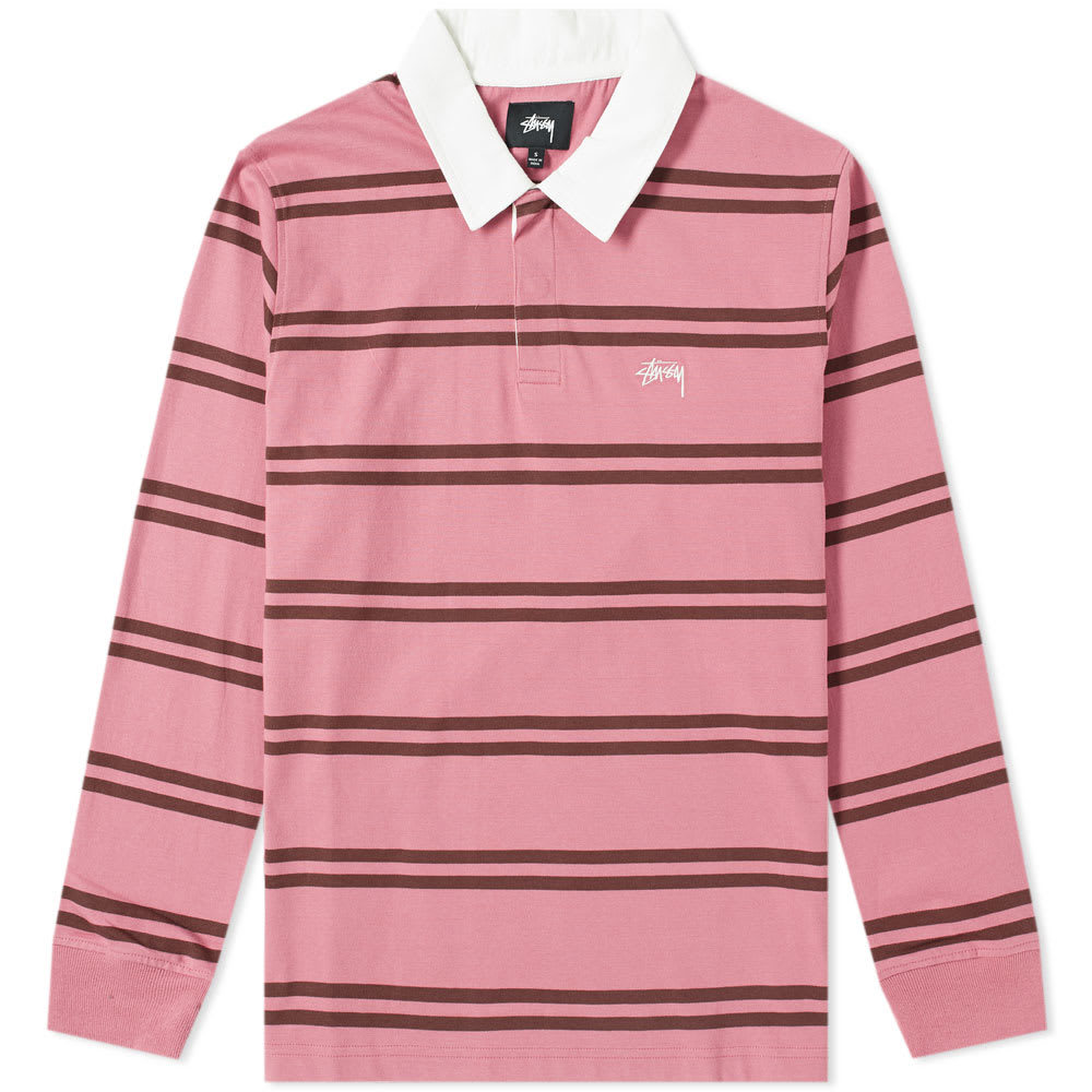 Photo: Stussy Desmond Stripe Rugby Shirt