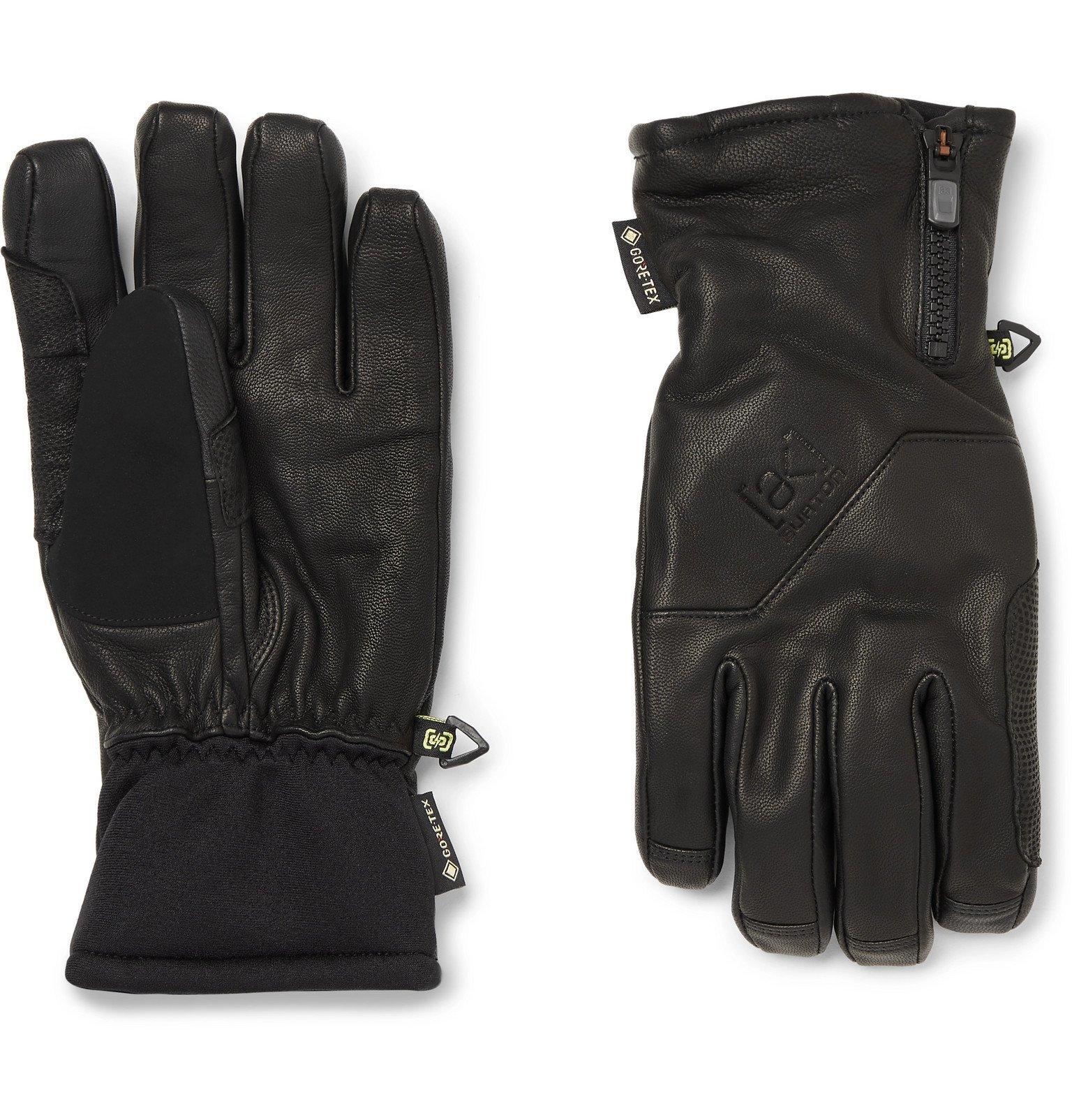 Photo: Burton - ak Guide Touchscreen Leather and GORE-TEX Gloves - Black