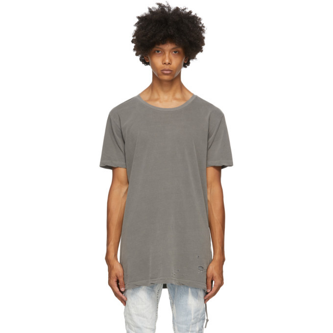 Ksubi Grey Sioux T-Shirt