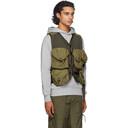 C.P. Company Khaki Taylon P Utiliy Vest