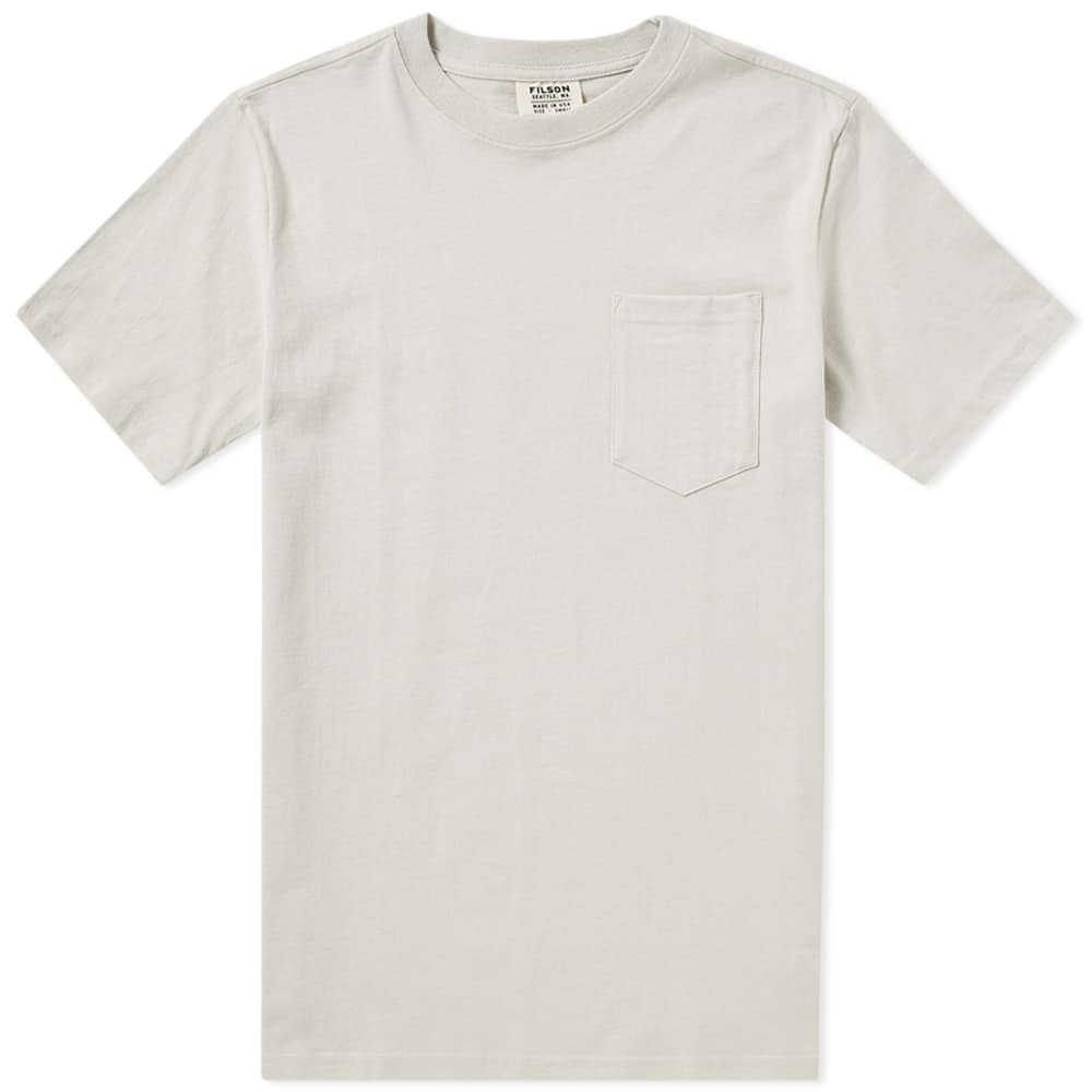 Filson Outfitter Pocket Tee Grey