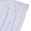 Sunspel - Striped Cotton Boxer Shorts - Men - Blue