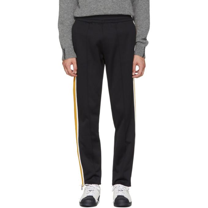 Photo: Moncler Black Cotton Track Pants
