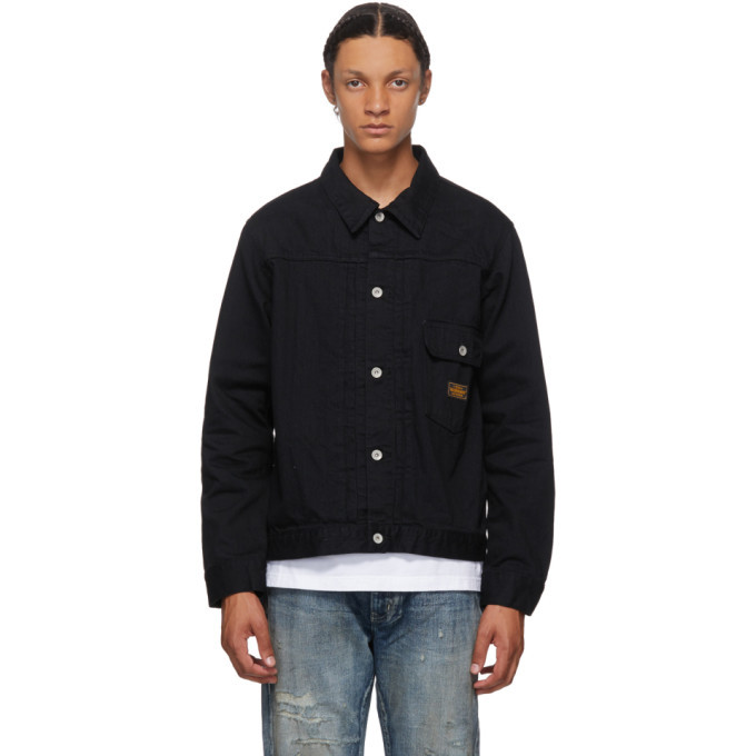 Photo: Neighborhood Black Denim Stockman Type-A Jacket