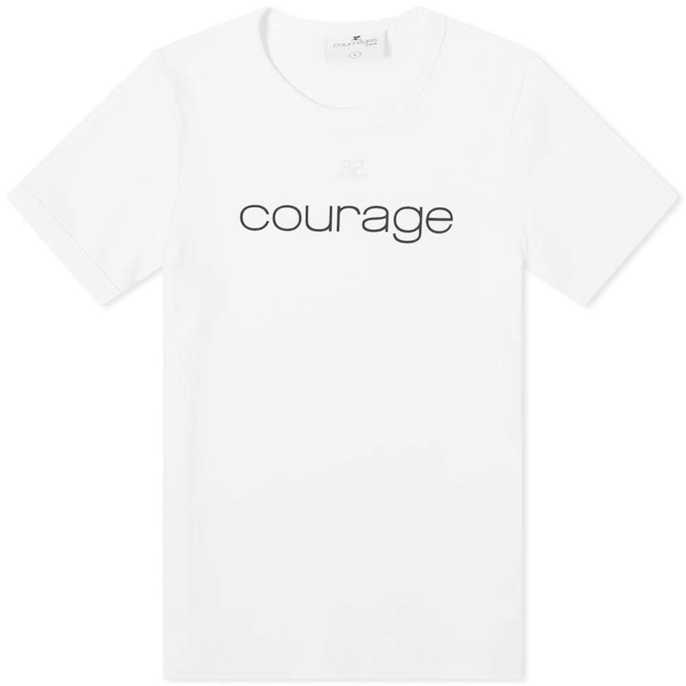 Photo: Courrèges Courage Tee