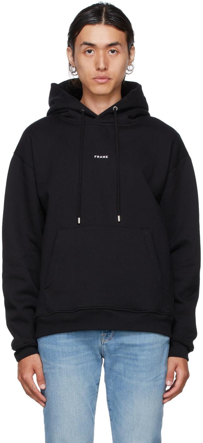 Photo: Frame Black Logo Hoodie