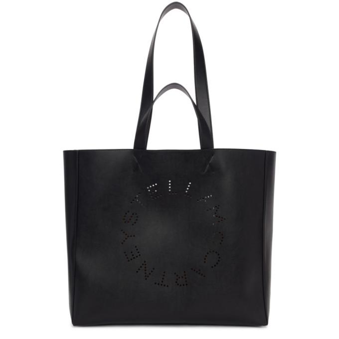 Photo: Stella McCartney Black Circle Logo Shopper Tote