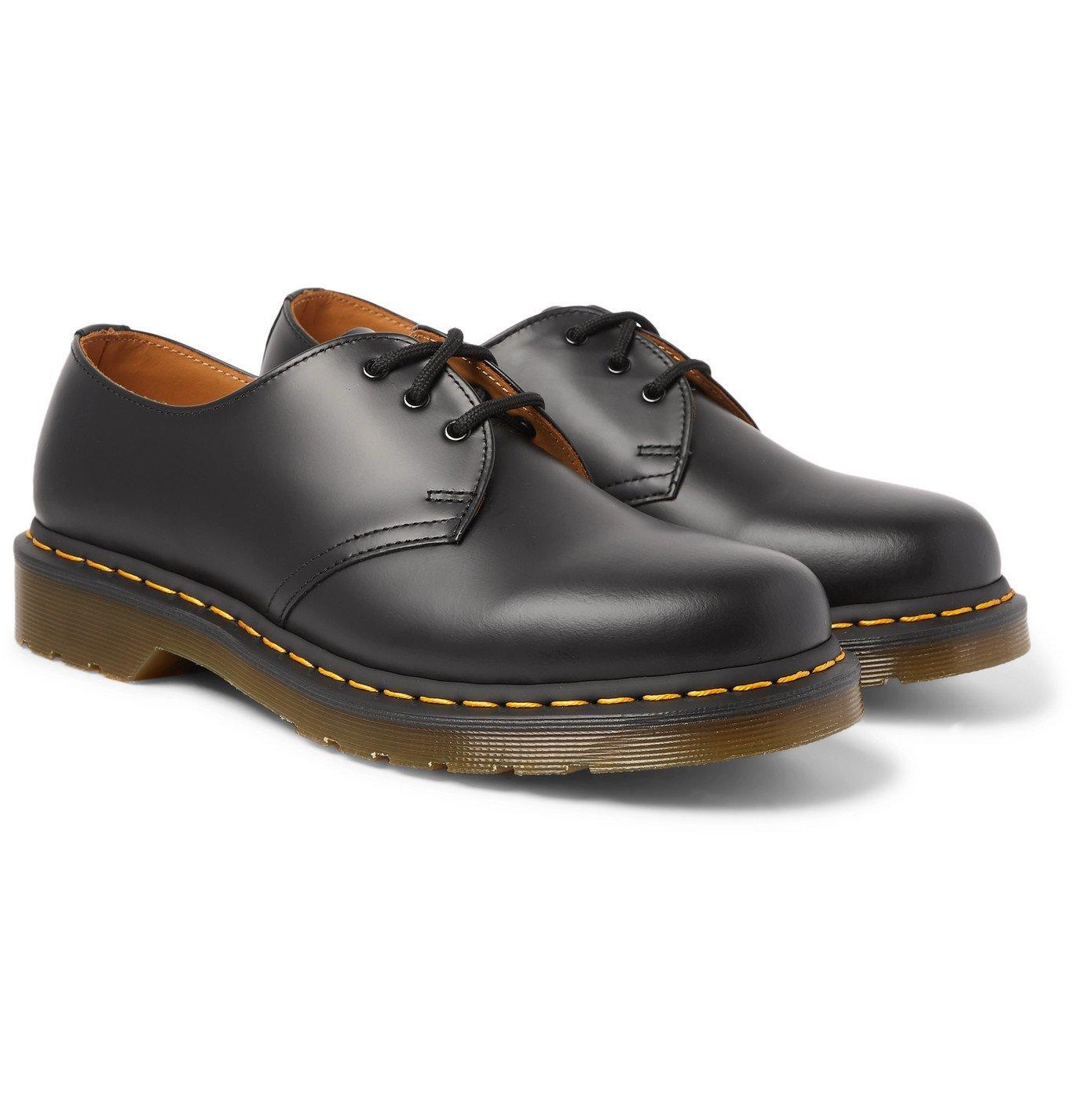 Photo: Dr. Martens - 1461 Leather Derby Shoes - Black