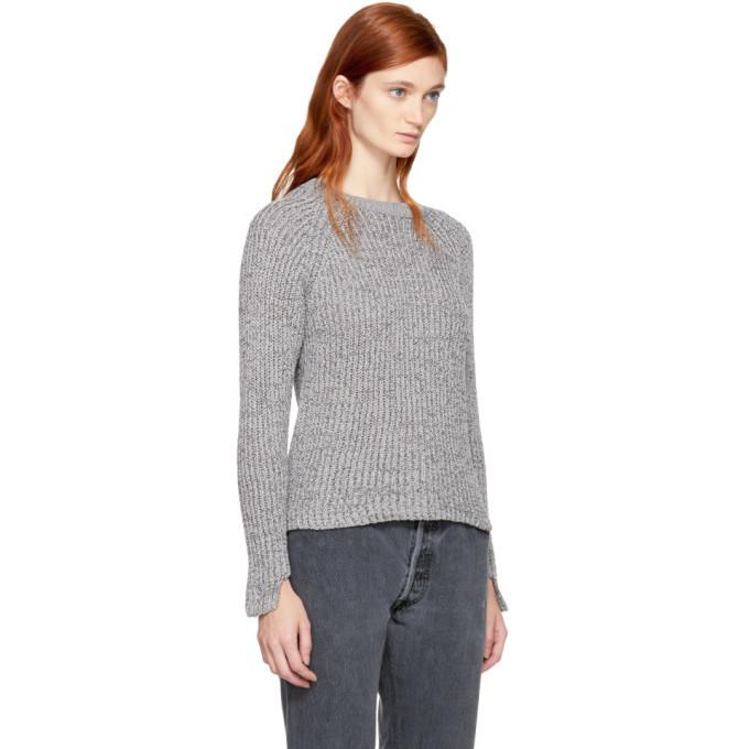 Won Hundred Grey Cropped Jasmina Sweater