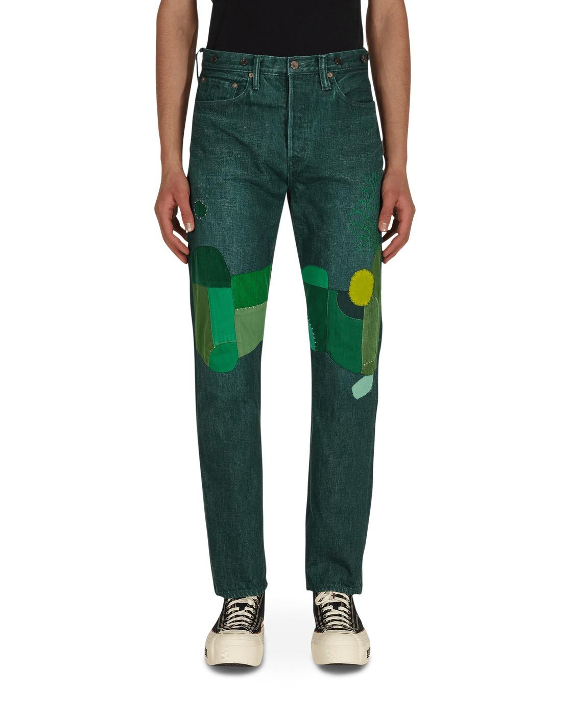 Photo: Kapital No.4 Plant Dye 5p Monkey Cisco Denim Pants No4