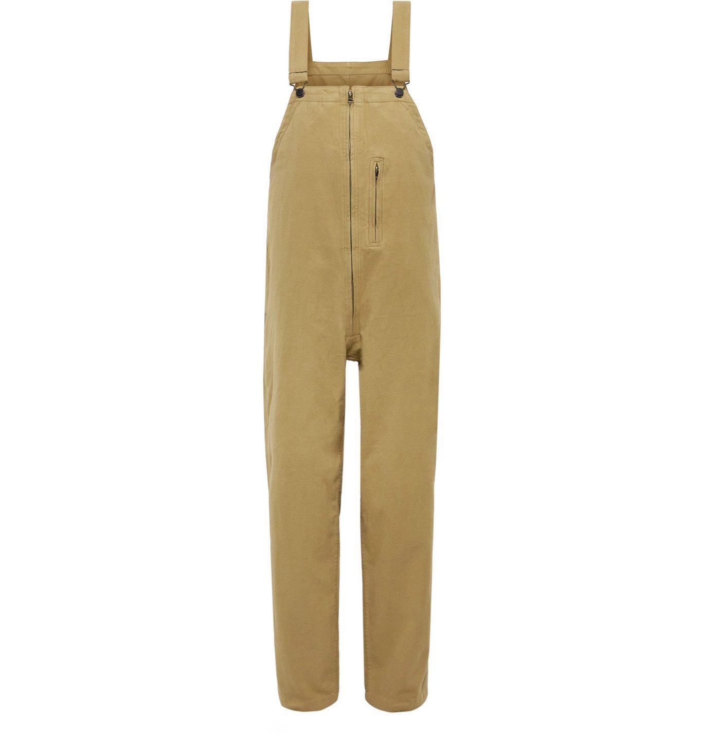 Photo: Beams Plus - Mil Brushed Cotton-Blend Overalls - Neutrals