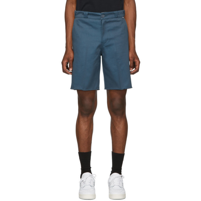 Photo: Dickies Construct Blue Cut-Off Shorts