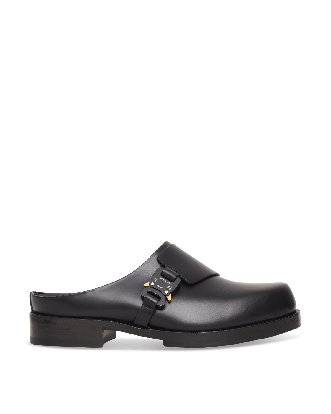 Photo: 1017 Alyx 9sm Formal Clog With Buckle Black
