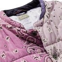 KAPITAL - Patchwork Bandana-Print Padded Cotton Jacket - Purple
