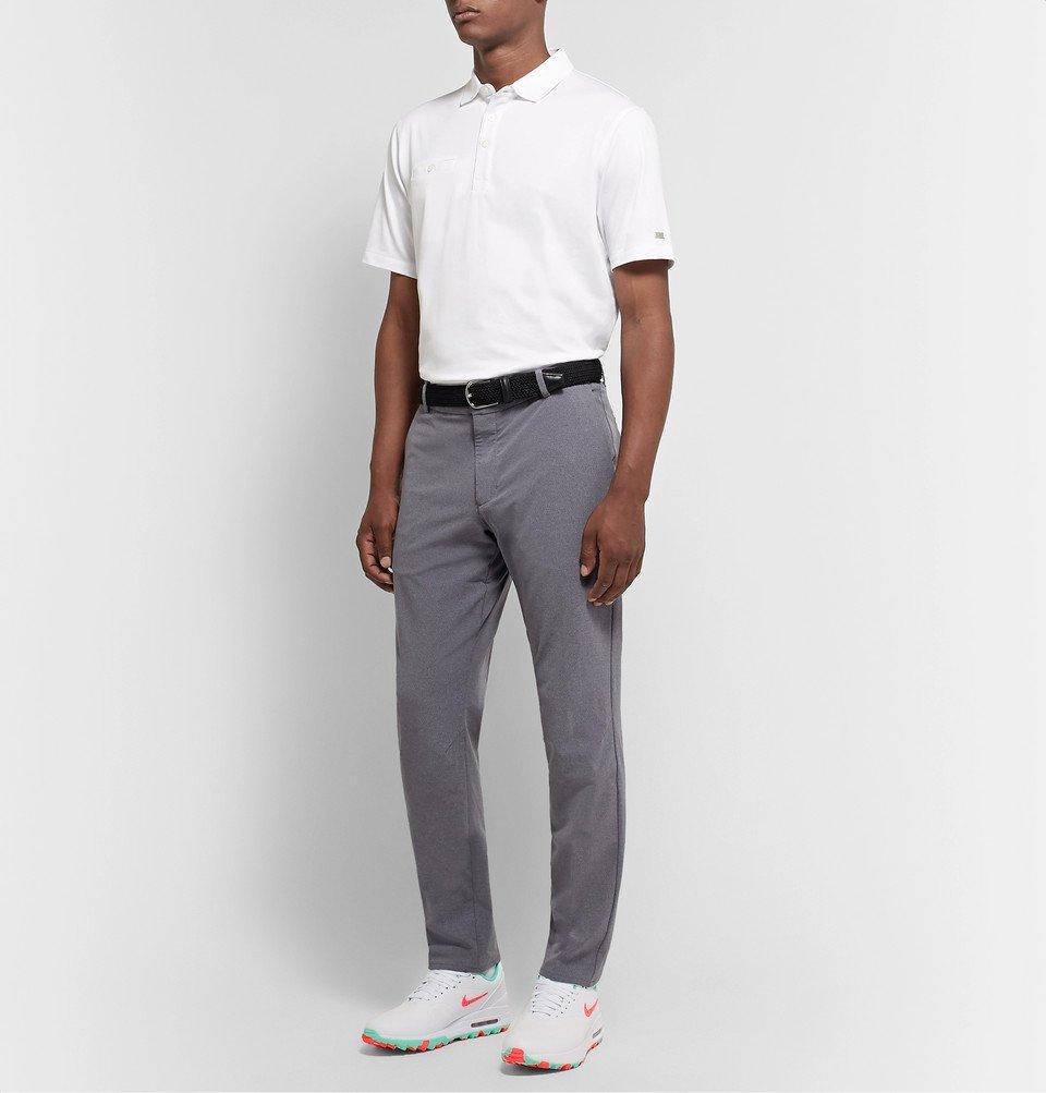 Nike Golf Air Max 1g Coated Mesh Golf Shoes White Nike Golf