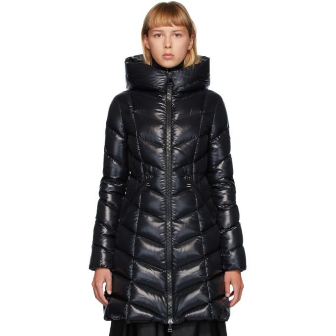 Photo: Moncler Black Down Marus Coat