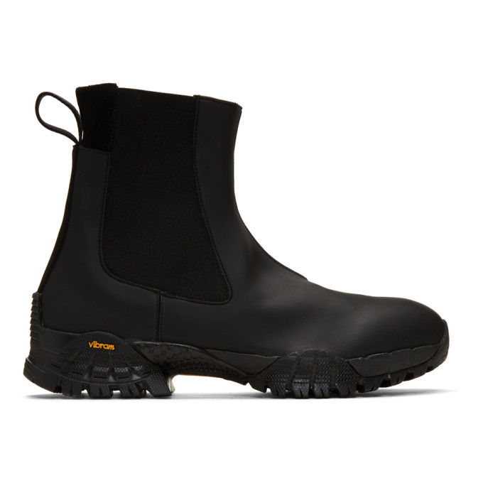 Photo: 1017 Alyx 9SM Black Rubber Sole Chelsea Boots