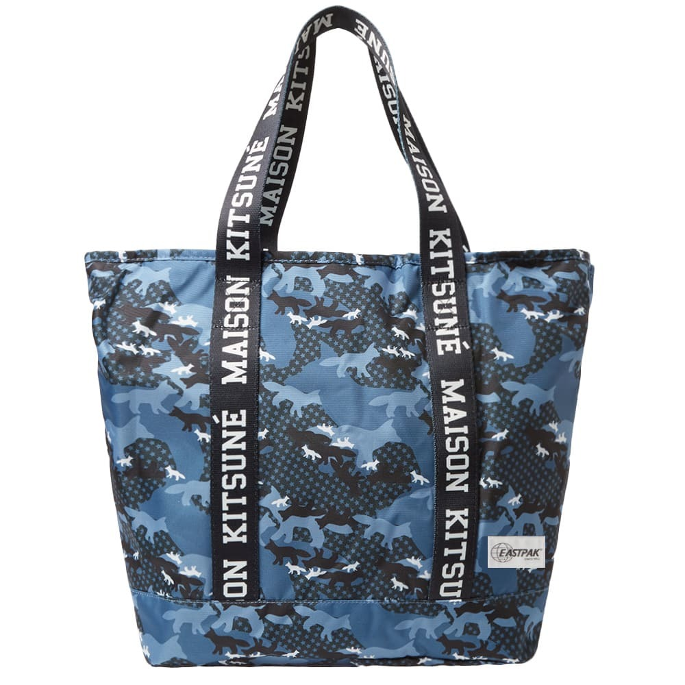 Photo: Maison Kitsune x Eastpak Flask tote Bag