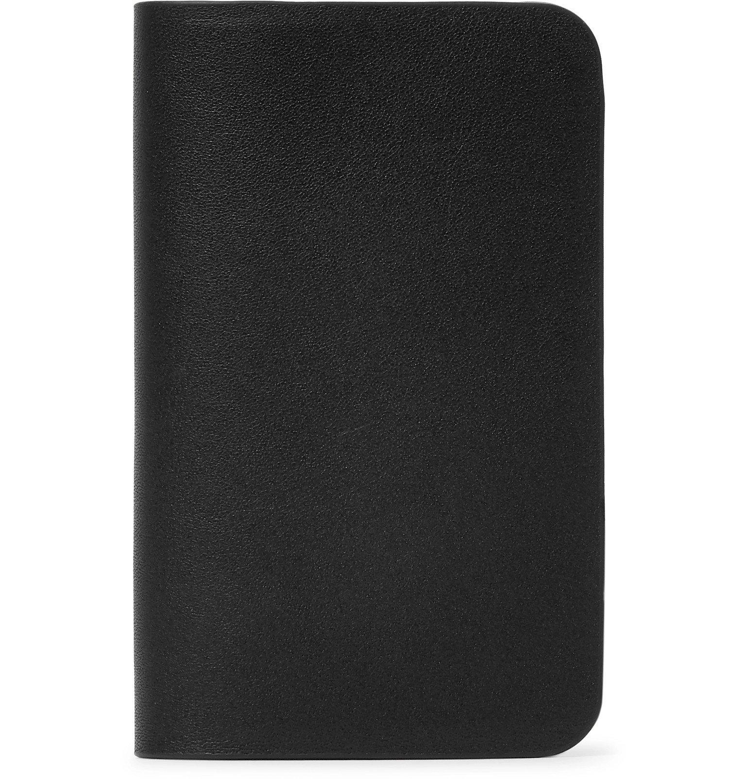Photo: Arc'teryx Veilance - Casing Leather Cardholder - Black