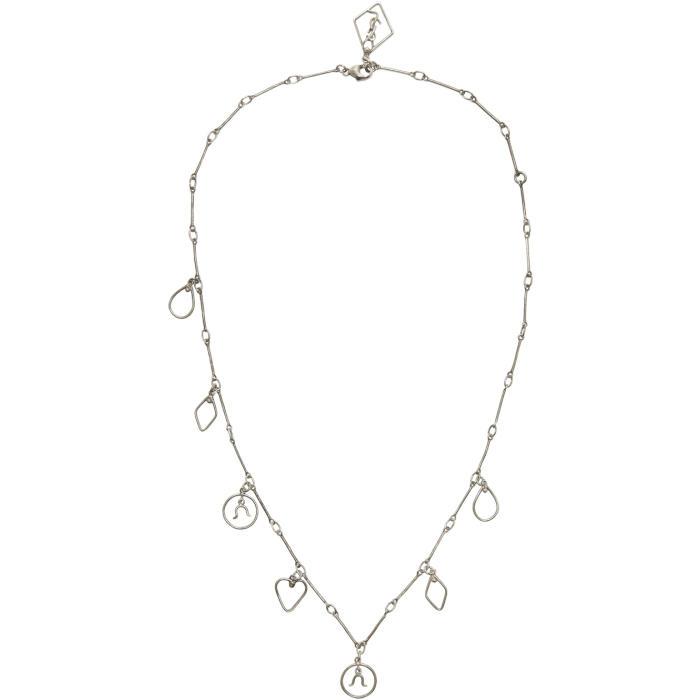 Photo: Saint Laurent Silver Zodiac Necklace