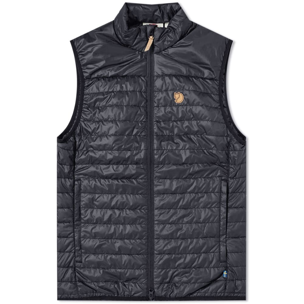 Photo: Fjällräven Abisko Padded Vest Black