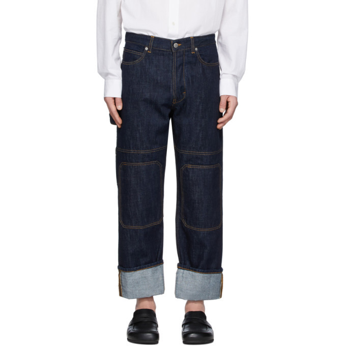 Photo: JW Anderson Indigo Patched Jeans