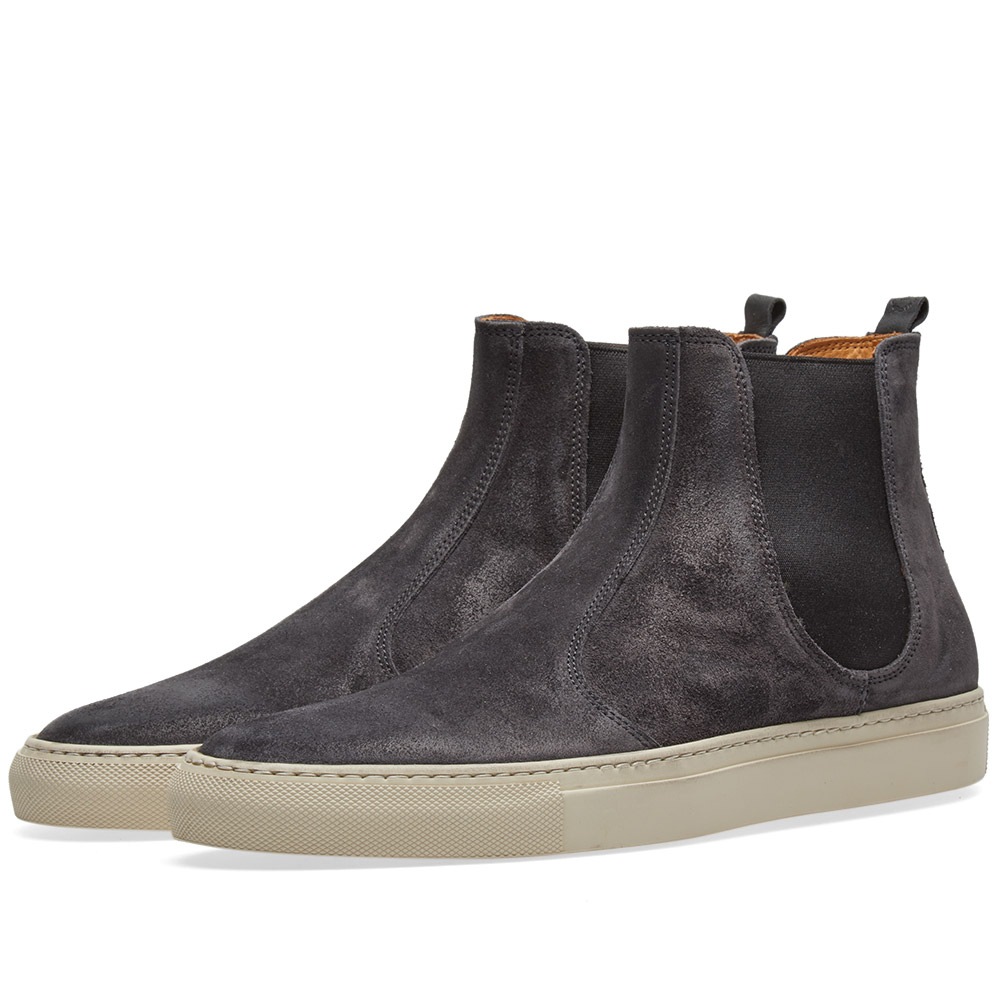 Photo: Buttero Tanino Suede Chelsea Boot Grey