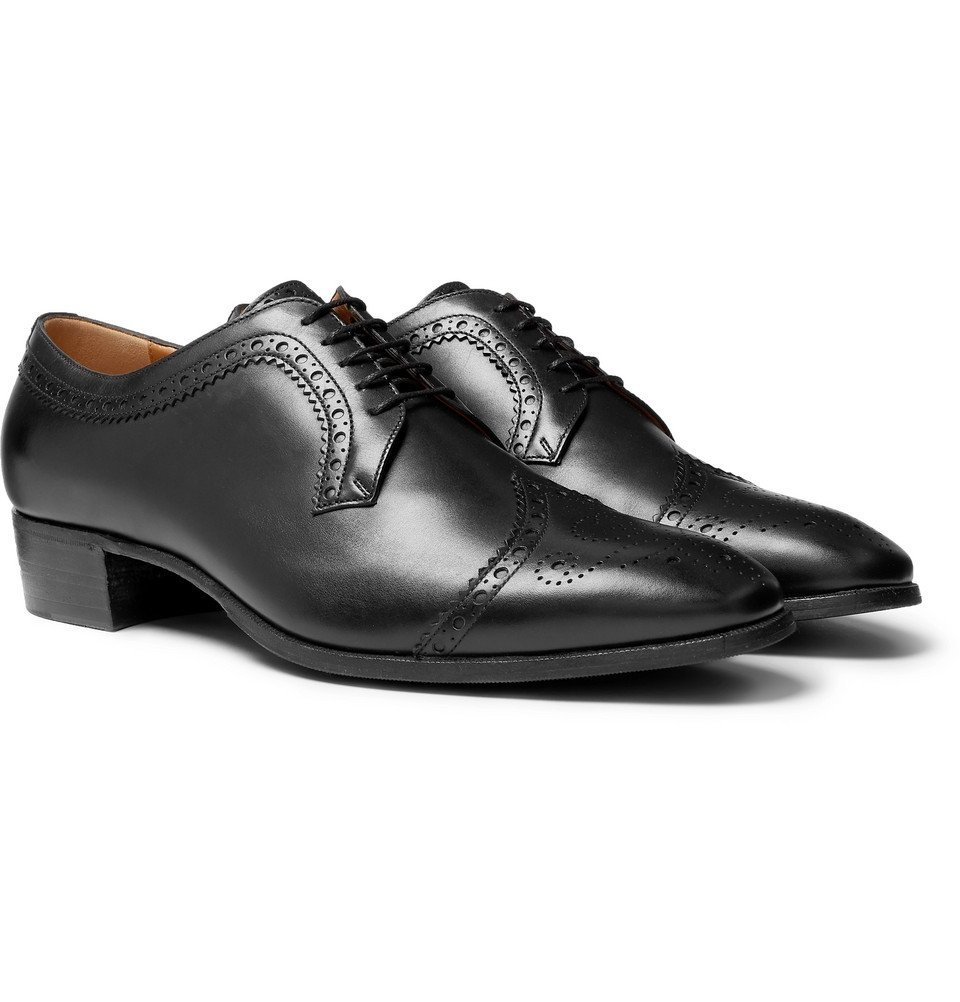 Photo: Gucci - Leather Brogues - Black