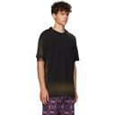 Martine Rose Black Sunbleach Double T-Shirt