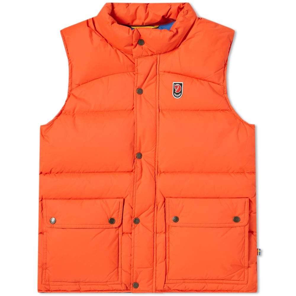 Photo: Fjallraven Expedition Down Lite Vest Flame Orange
