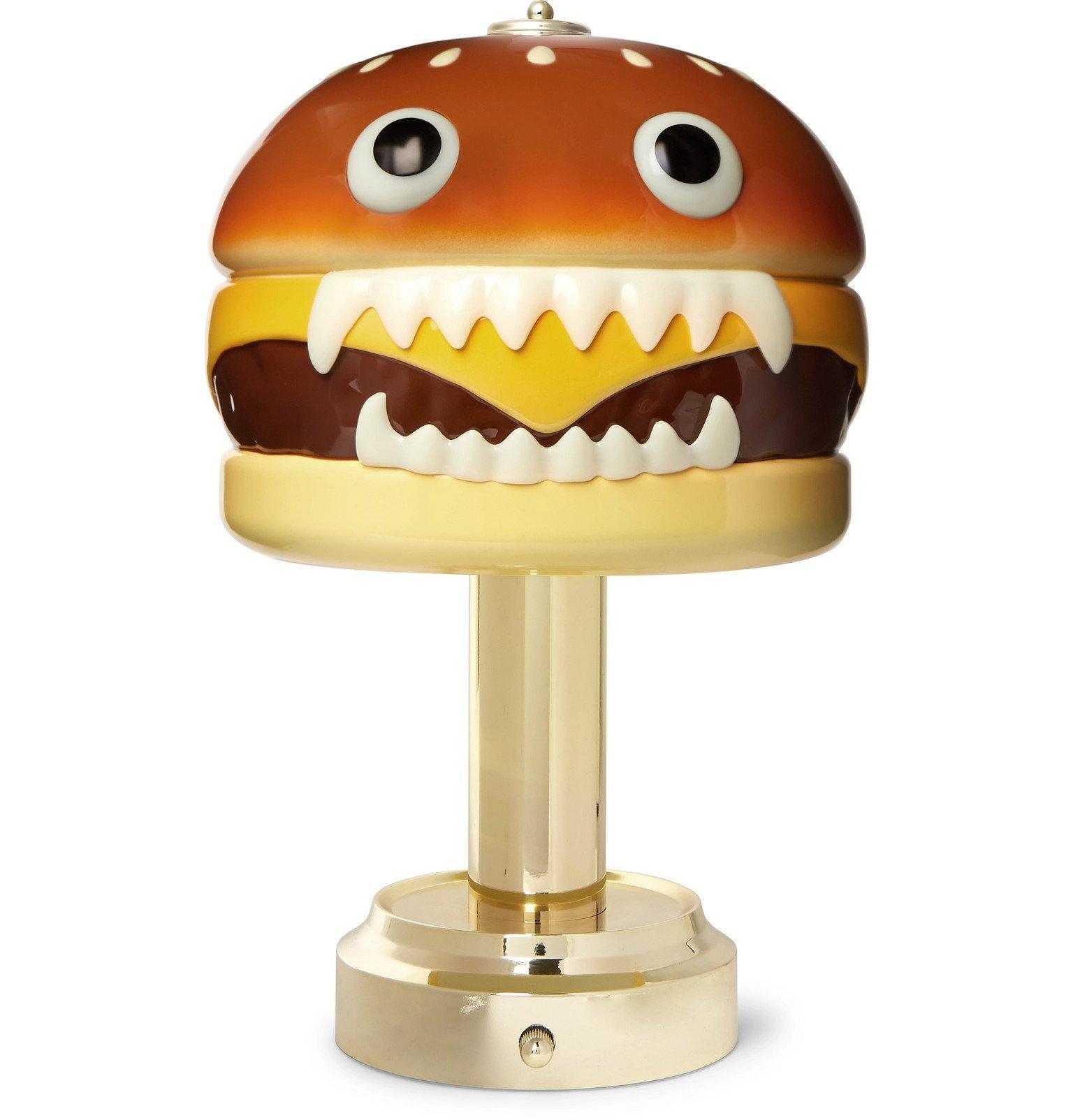 Undercover - Medicom Hamburger Lamp - Gold