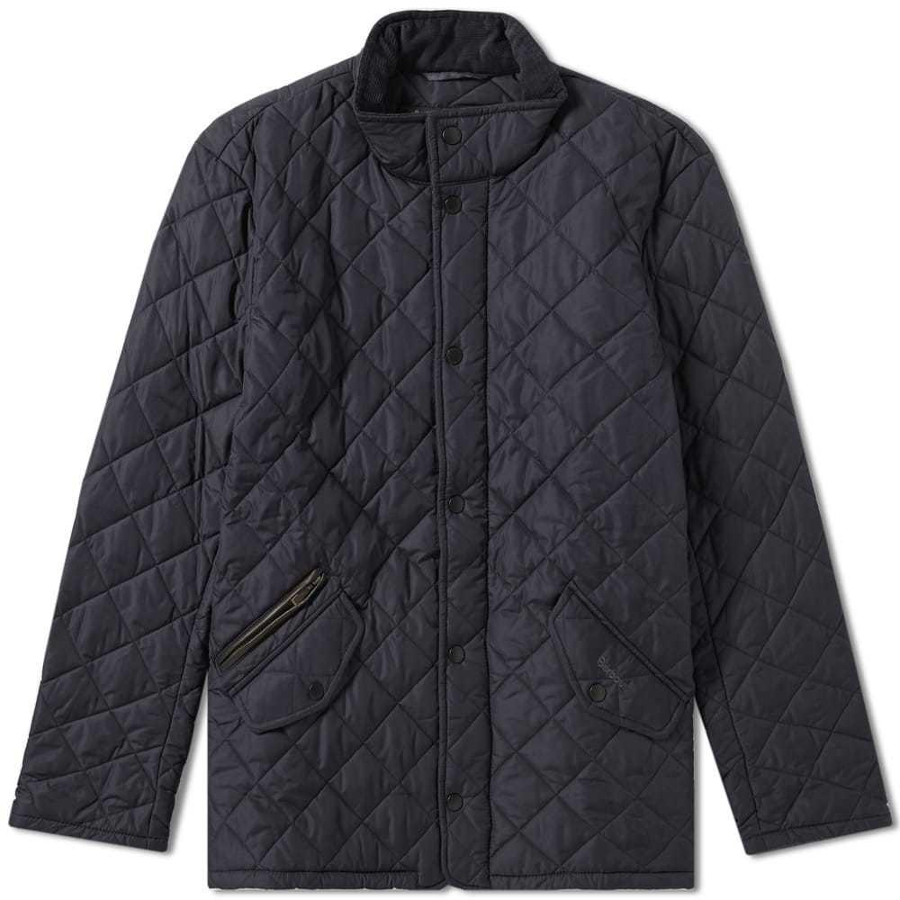 Photo: Barbour Chelsea Sportsquilt Jacket Blue