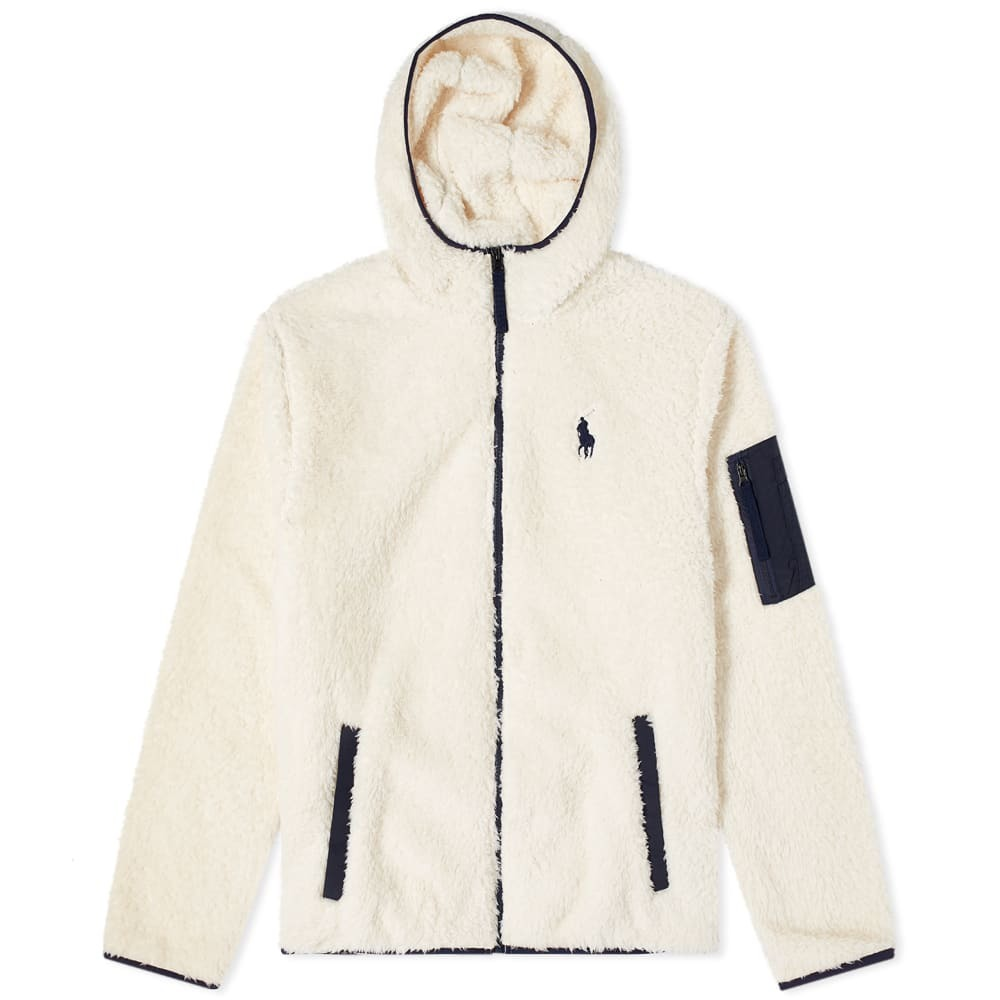 Photo: Polo Ralph Lauren Sherpa Fleece Zip Hoody