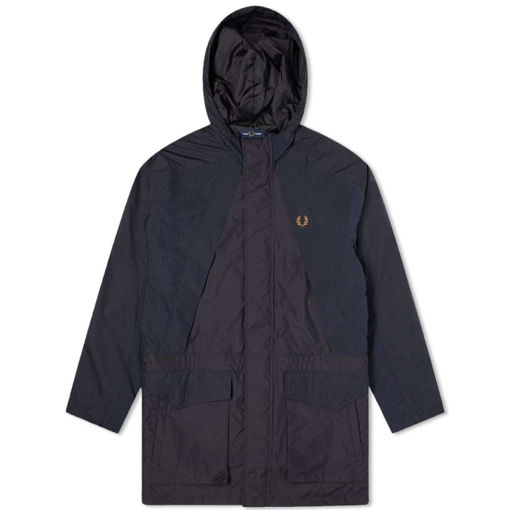 Photo: Fred Perry Authentic Hooded Parka