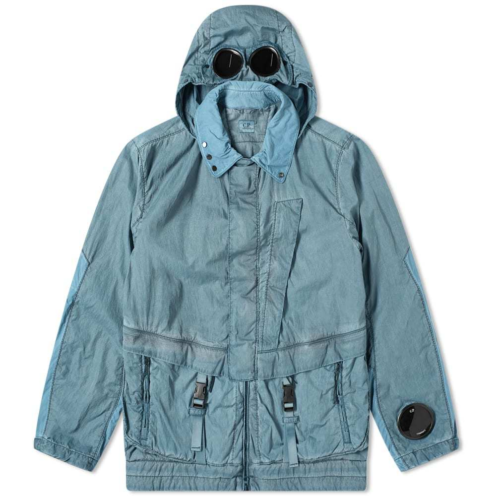 Photo: C.P. Company Nylon Garment Dyed Mille Goggle Jacket