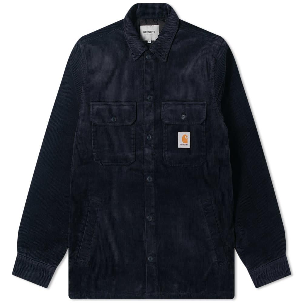 Photo: Carhartt WIP Whitsome Corduroy Shirt Jacket
