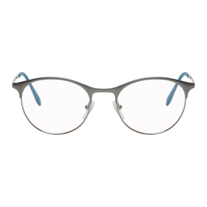 Photo: Prada Gunmetal and Blue Lifestyle Glasses