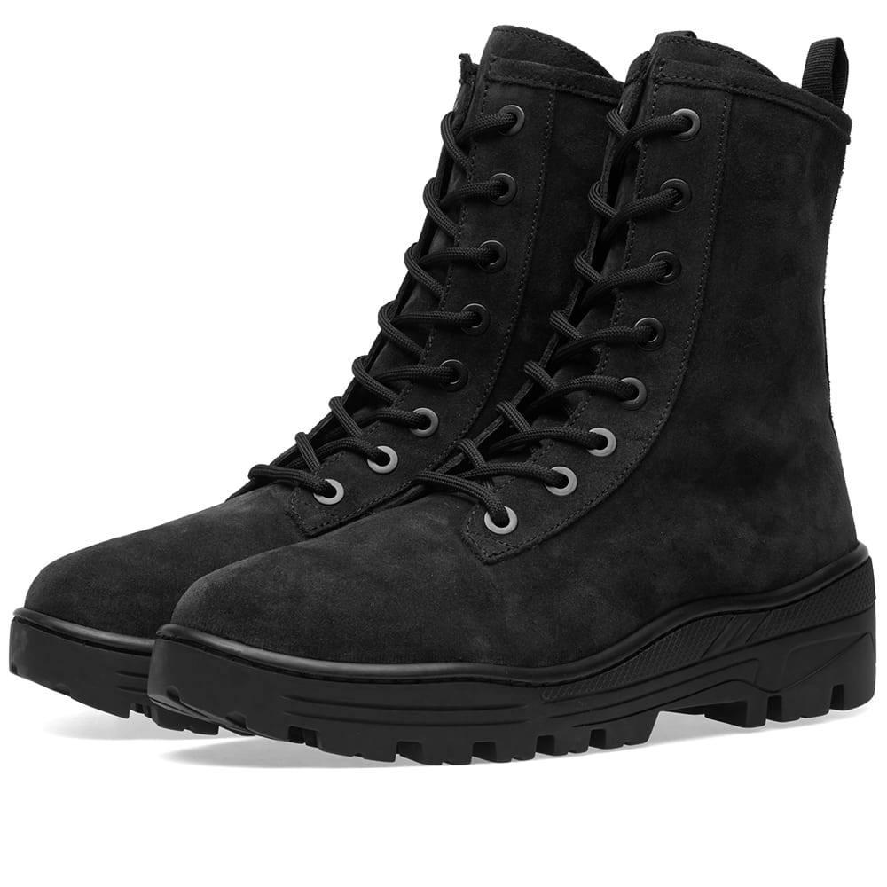 Photo: Yeezy Season 6 Combat Boot Black