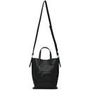 3.1 Phillip Lim Black Mini Odita Modern Lattice Bucket Bag
