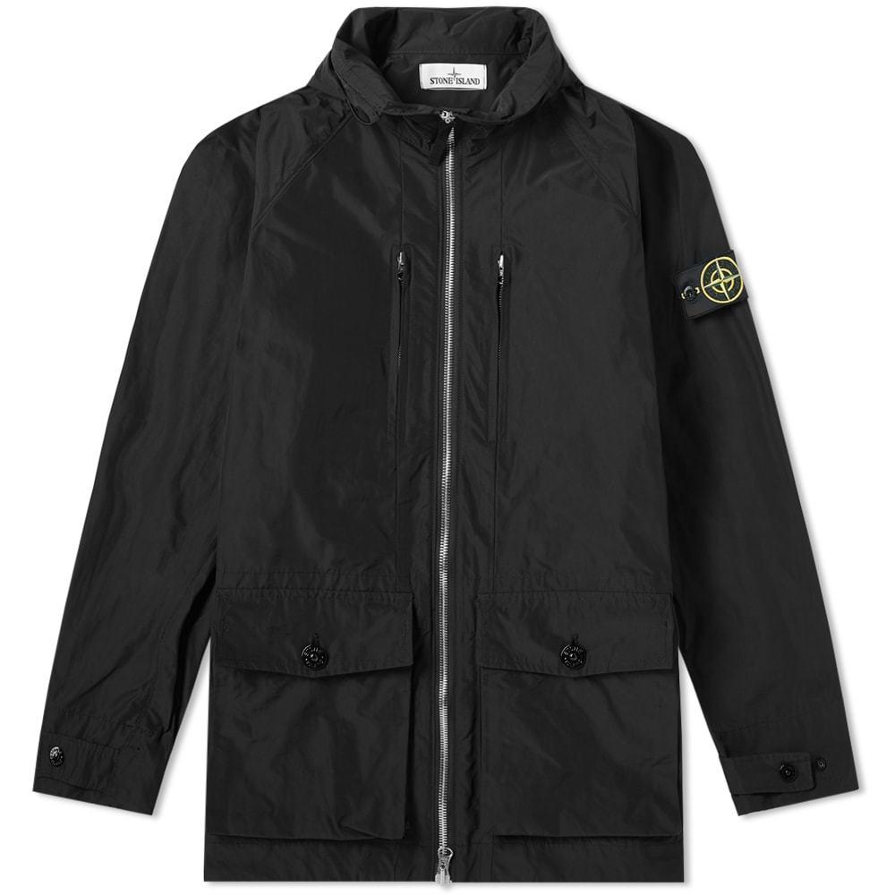 Photo: Stone Island Micro Reps Hooded Zip Jacket