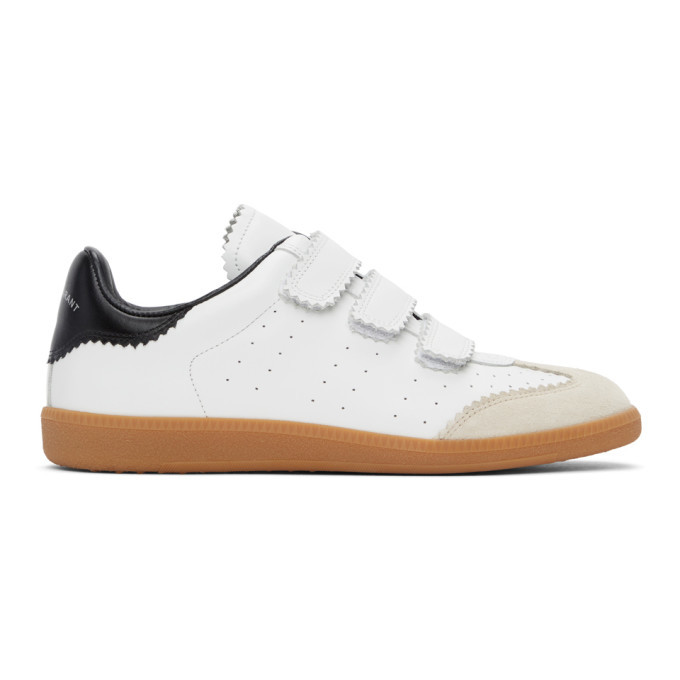 Photo: Isabel Marant White Bethy Sneakers